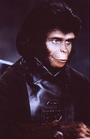 Kim Hunter in una scena de Il pianeta delle scimmie