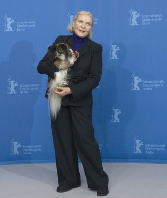 Lauren Bacall alla Berlinale 2007 per presentare il film The Walker