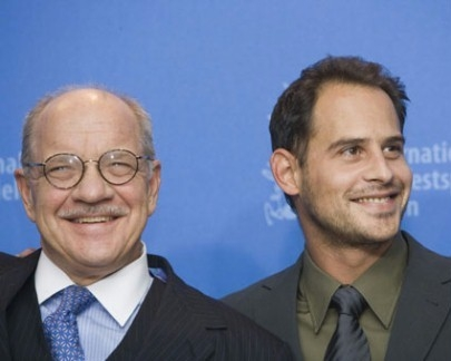 Paul Schrader e Moritz Bleibtreu alla Berlinale 2007 per presentare il film The Walker