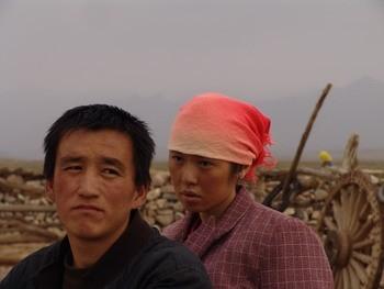 Yu Nan in una scena del film Tuya's Marriage
