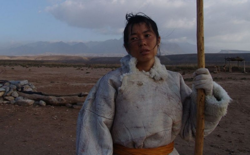 L'attrice Yu Nan in una scena del film Tuya's Marriage