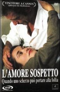 La copertina DVD di L'amore sospetto