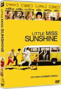 La copertina DVD di Little Miss Sunshine