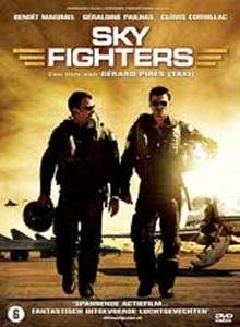 La copertina DVD di Sky Fighters