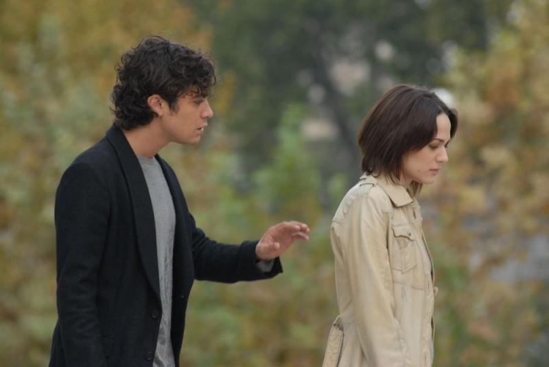 Laura Chiatti e Riccardo Scamarcio  in una scena del film Ho voglia di te (2007)