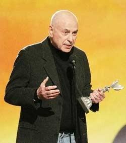 Alan Arkin vincitore dell'Independent's Spirit Award 2007 come miglior Attore non protagonista per il film Little Miss Sunshine
