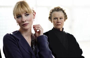 Cate Blanchett e Judi Dench in una scena del dramma Diario di uno scandalo