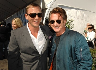 Daniel Craig e Sean Penn sul Red Carpet degli Independent Spirit Awards 2007