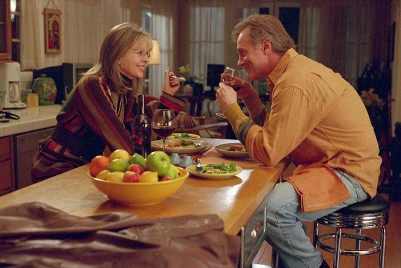 Diane Keaton e Stephen Collins in una scena del film Perchè te lo dice mamma