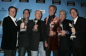 I produttori del film Little Miss Sunshine festeggiano l'Independent's Spirit Award 2007 per il Miglior Film.