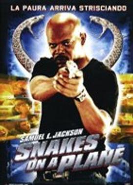 La copertina DVD di Snakes on a Plane
