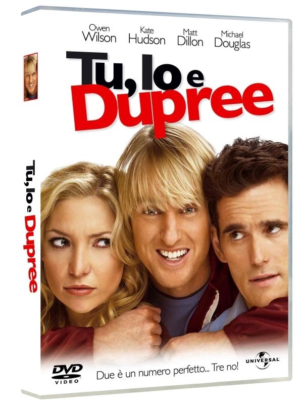 La copertina DVD di Tu, io e Dupree