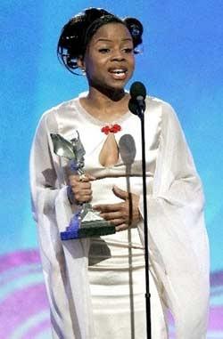 Shareeka Epps vincitrice dell'Independent's Spirit Award 2007 come miglior Attrice protagonista per il film Half Nelson