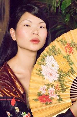 Yu Lin in una scena de Il velo dipinto