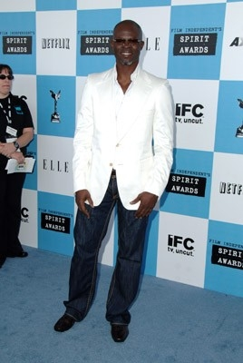 Djimon Hounsou sul Red Carpet degli Independent Spirit Awards 2007
