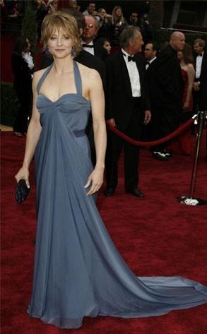 Jodie Foster al tappeto rosso degli Oscar 2007
