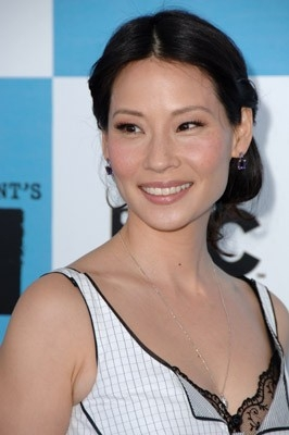 Lucy Liu sul tappeto rossodegli Independent Spirit Awards 2007