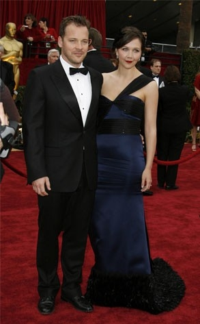 Maggie Gyllenhaal e Peter Sarsgaard al tappeto rosso degli Oscar 2007