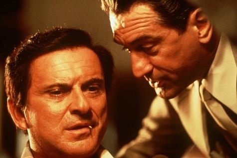 Robert De Niro e Joe Pesci in una scena di Casinò