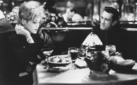 Robert De Niro e Sharon Stone in una scena di Casinò