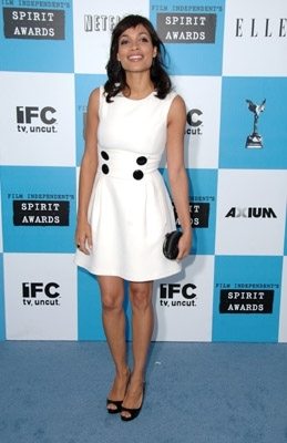 Rosario Dawson sul Red Carpet degli Independent Spirit Awards 2007