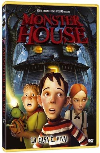 La copertina DVD di Monster House