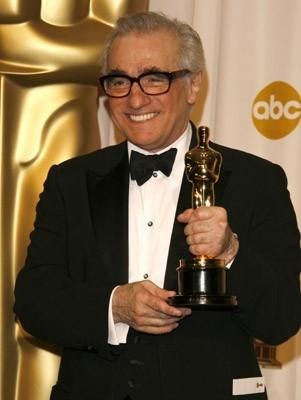 Un sorridente Martin Scorsese, Oscar 2007 come miglior regista per The Departed