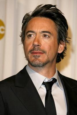 Un bel primo piano di Robert Downey Jr., presentatore agli Oscar 2007