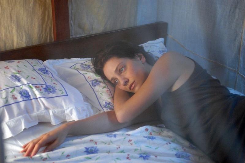 Giovanna Mezzogiorno in una scena del film Lezioni di volo