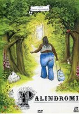 La copertina DVD di Palindromi