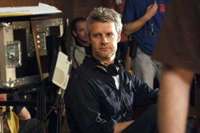 Neil Burger sul set del film The Illusionist