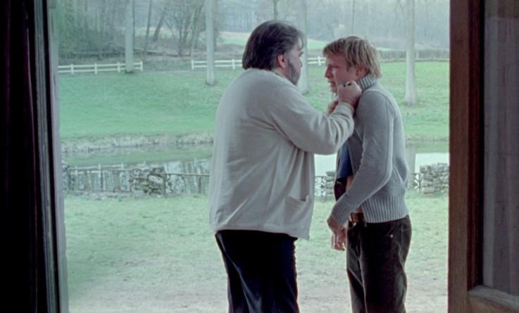 Una scena del film Proprietà privata