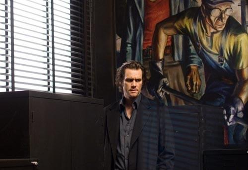 Jim Carrey in una scena del film The Number 23