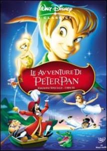 La copertina DVD di Le avventure di Peter Pan