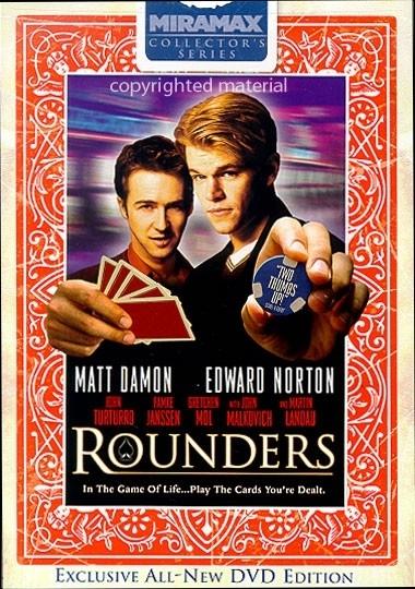 La copertina DVD di Rounders: Collector's Series Edition