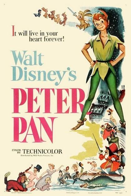 La locandina di Le avventure di Peter Pan