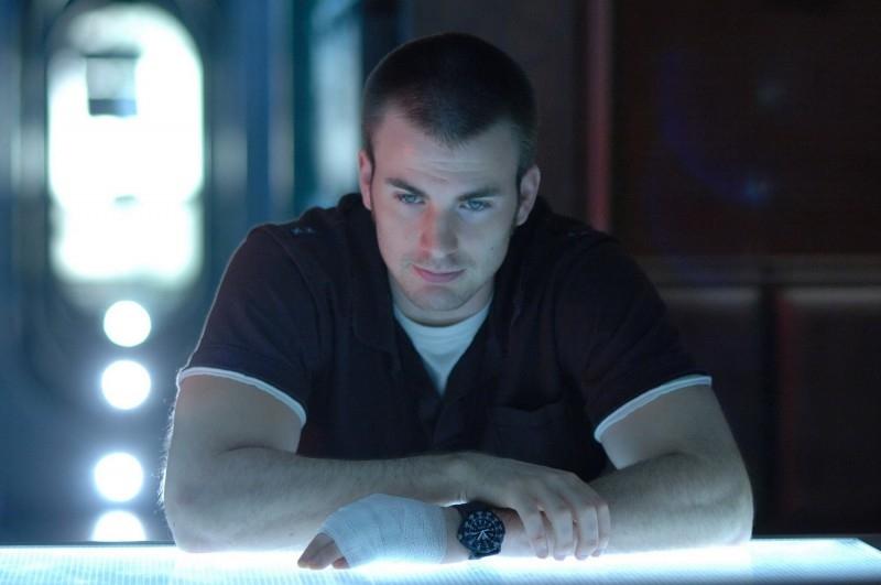 Chris Evans in una immagine del film Sunshine