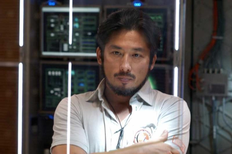 Hiroyuki Sanada in una sequenza del film Sunshine