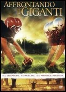 La copertina DVD di Affrontando i giganti