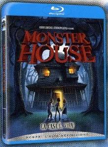 La copertina DVD di Monster House (Blu-Ray)