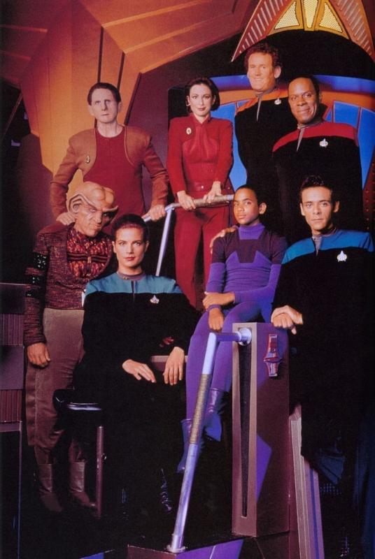 La locandina di Star Trek - Deep Space Nine