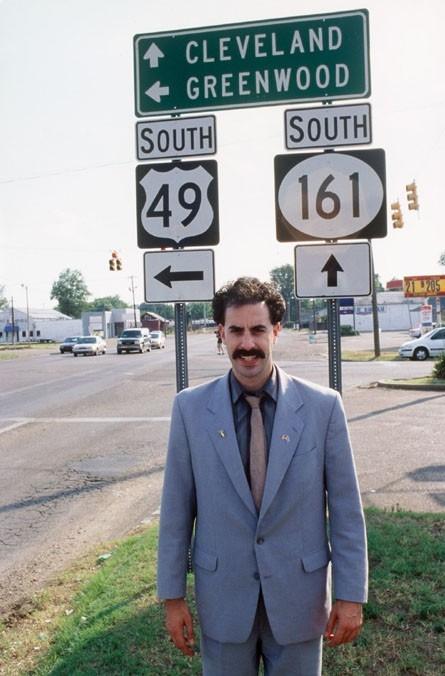 Sacha Baron Cohen in una immagine di 'Borat'
