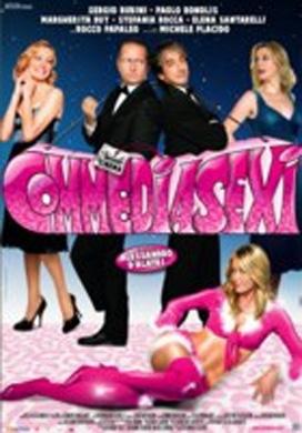 La copertina DVD di Commediasexi