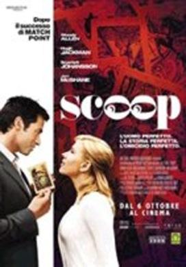 La copertina DVD di Scoop