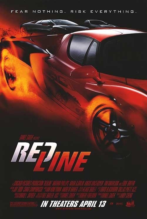 La locandina di Redline