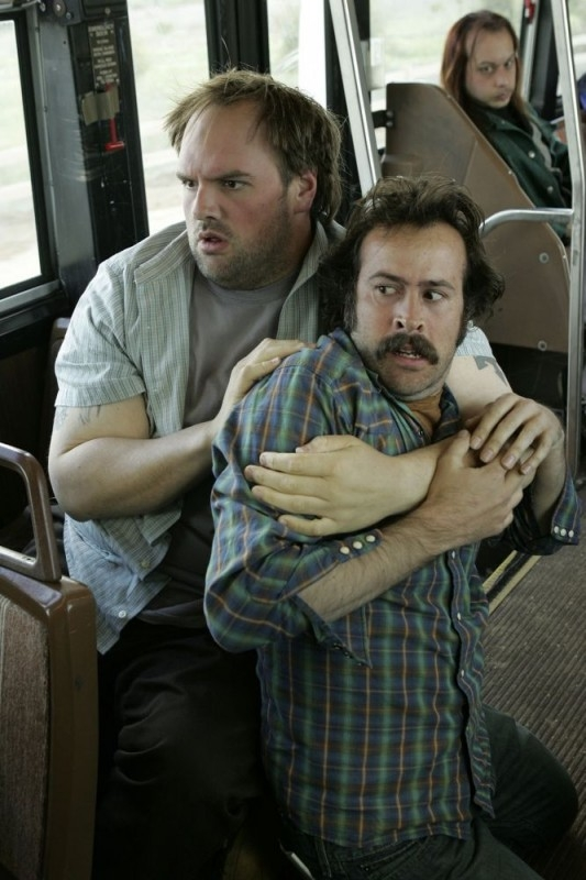 Ethan Suplee e Jason Lee in una sequenza di My Name Is Earl