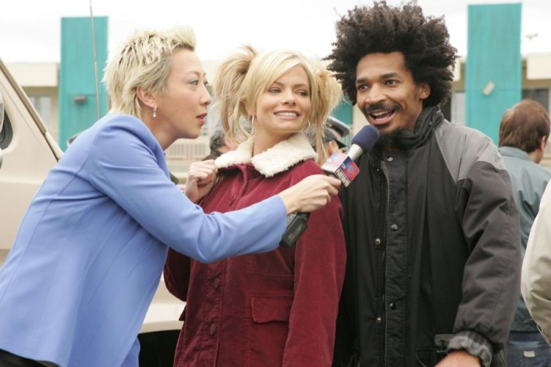 Jaime Pressly e Eddie Steeples in una scena di My Name Is Earl