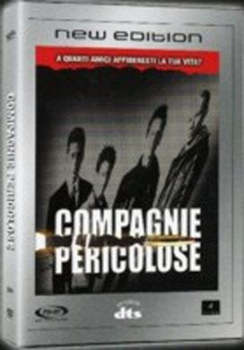 La copertina DVD di Compagnie pericolose