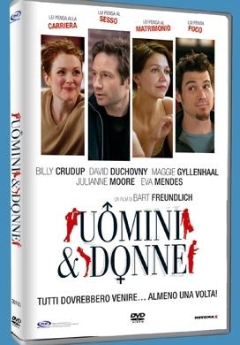 La copertina DVD di Uomini & donne
