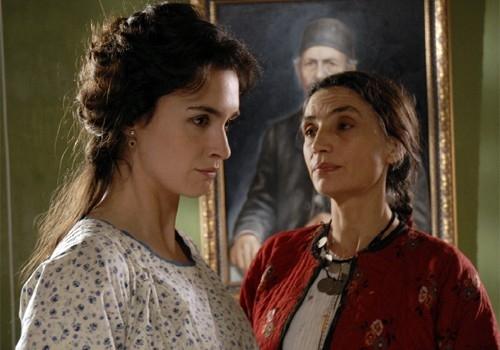 L'attrice spagnola Paz Vega in una scena del film La masseria delle allodole